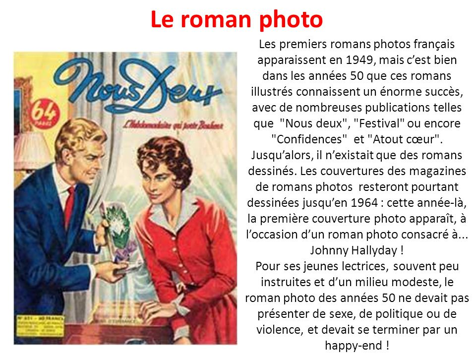 Le roman photo
