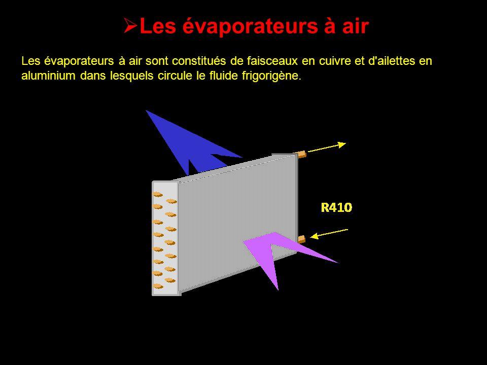 Les évaporateurs à air