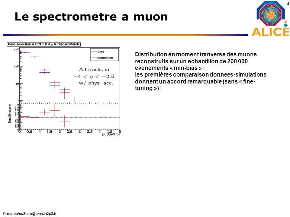 Le spectrometre a muon asg gs