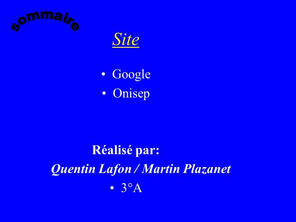 Quentin Lafon / Martin Plazanet