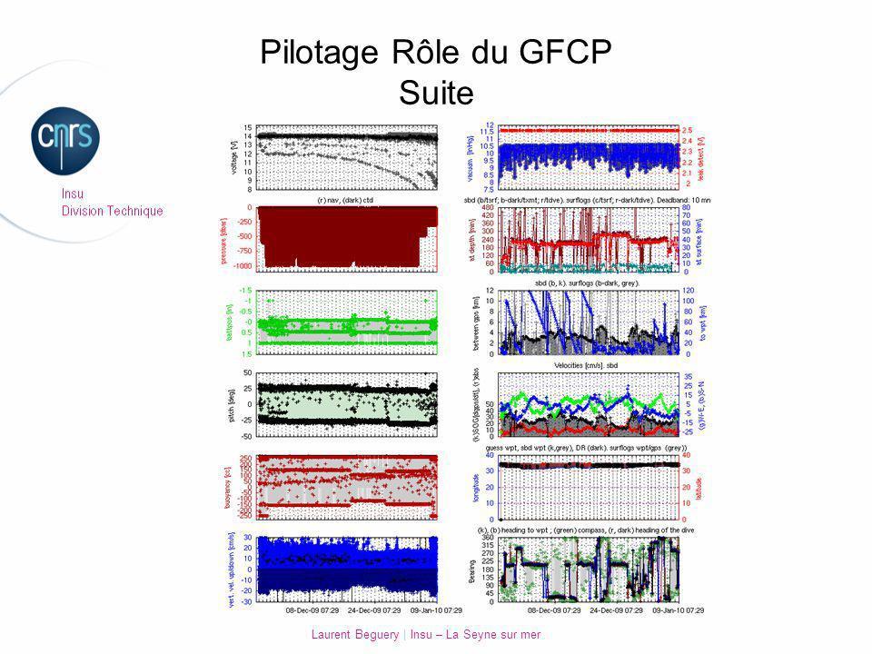 Pilotage Rôle du GFCP Suite