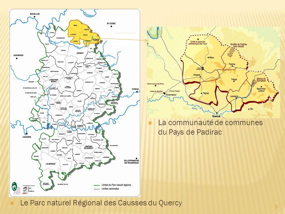 La communauté de communes du Pays de Padirac