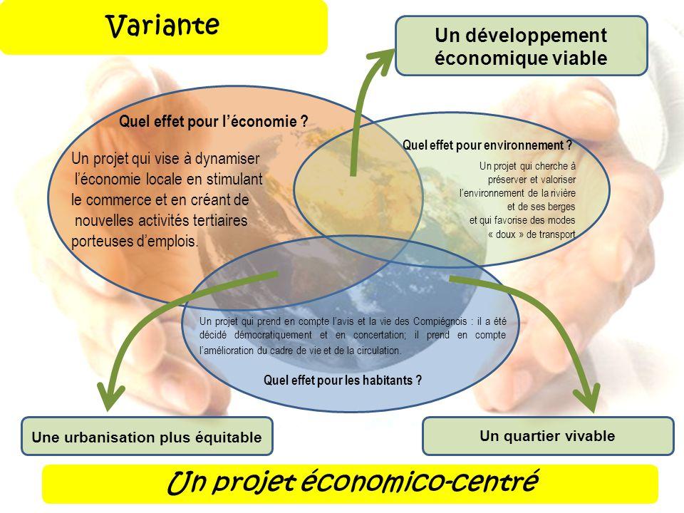 Un développement économique viable Une urbanisation plus équitable