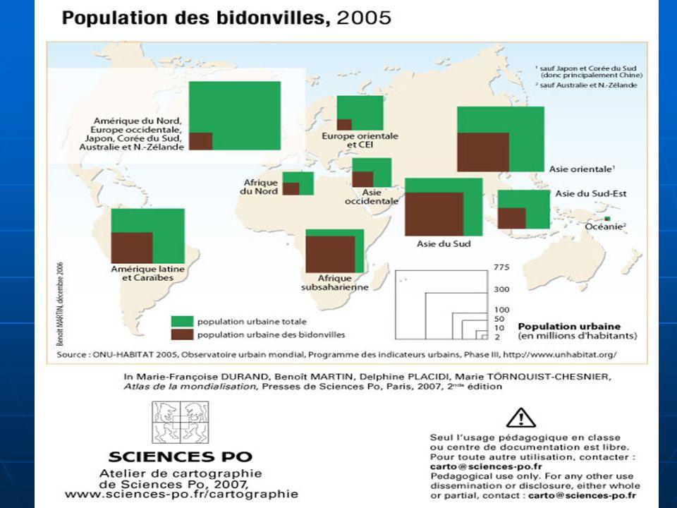 Carte des bidonvilles 21