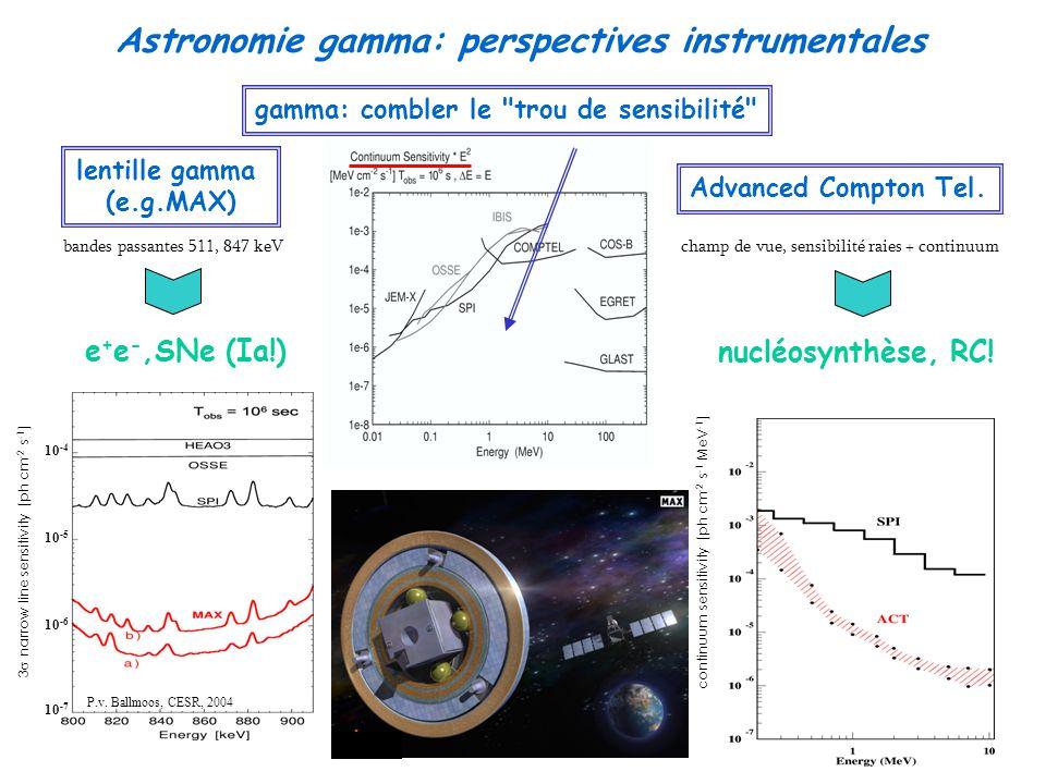 Astronomie gamma: perspectives instrumentales