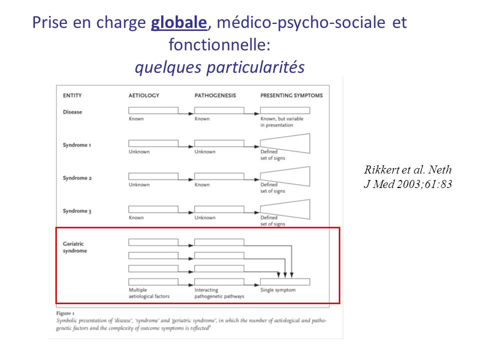 Prise en charge globale, médico-psycho-sociale et fonctionnelle: quelques particularités