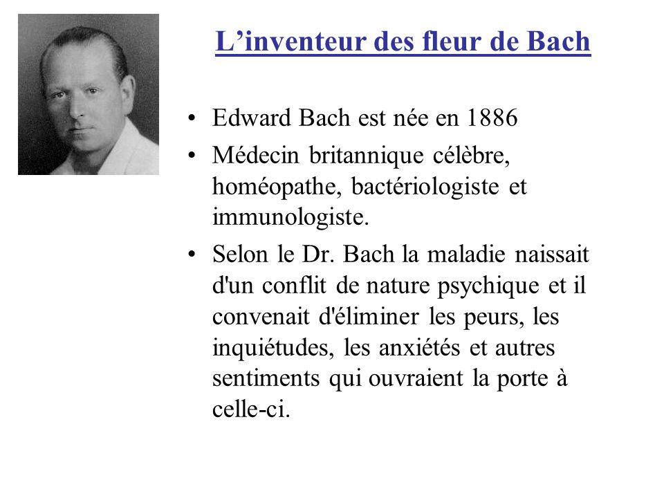 L'inventeur des fleur de Bach