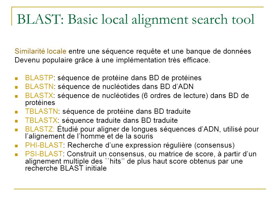 BLAST: Basic local alignment search tool