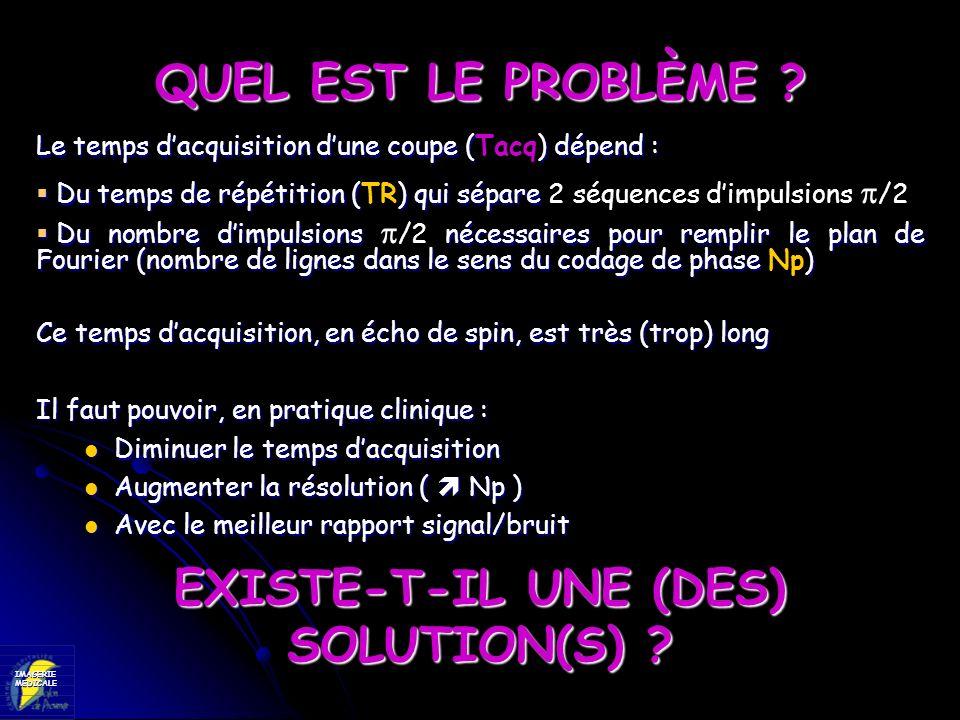 EXISTE-T-IL UNE (DES) SOLUTION(S)