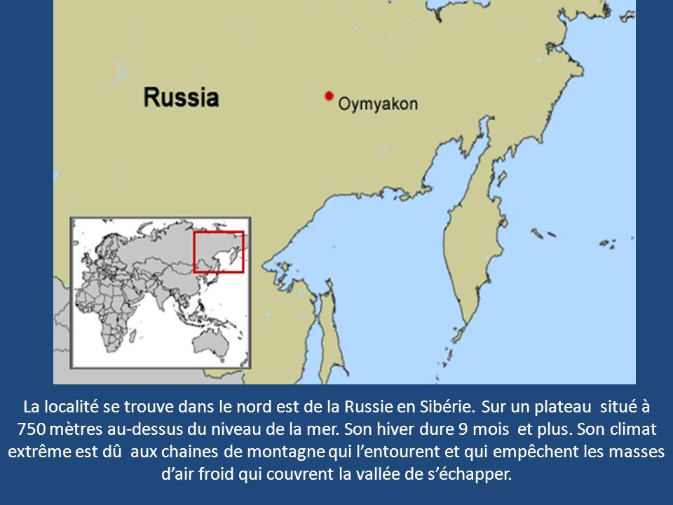 La localité se trouve dans le nord est de la Russie en Sibérie