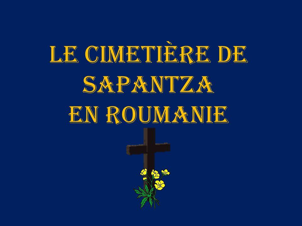 Le cimetière de Sapantza