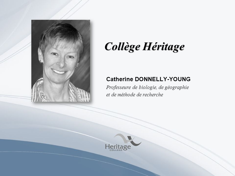 Collège Héritage Catherine DONNELLY-YOUNG
