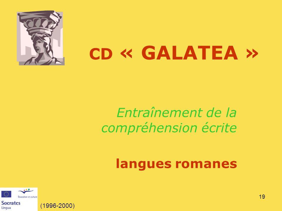 Entraînement de la compréhension écrite langues romanes