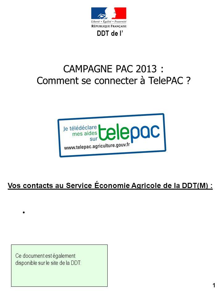 Comment se connecter à TelePAC
