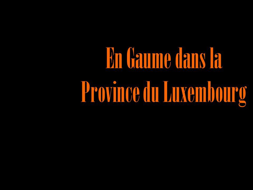 En Gaume dans la Province du Luxembourg