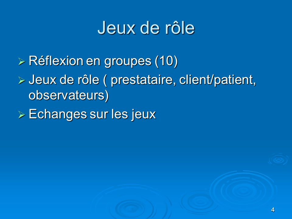 Jeux de rôle Réflexion en groupes (10)