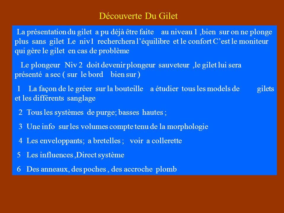 Découverte Du Gilet