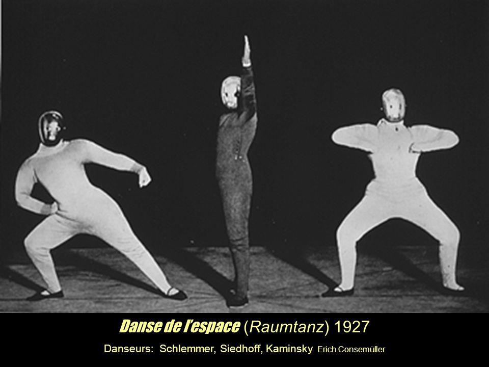 Danse de l'espace (Raumtanz) 1927