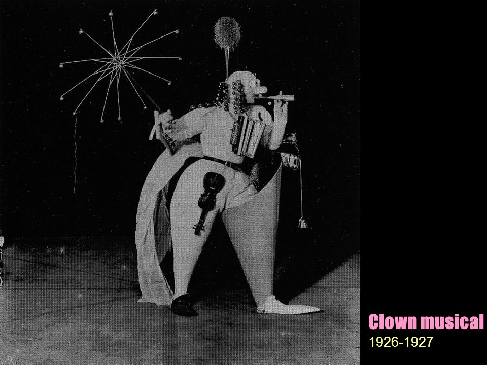 Clown musical 1926-1927