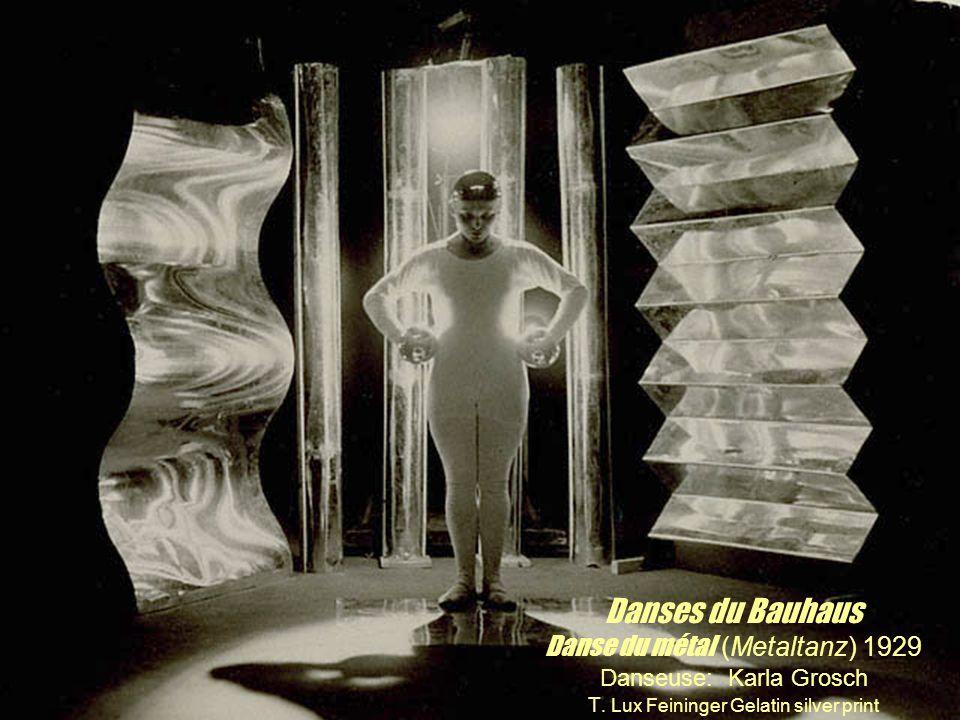 Danses du Bauhaus Danse du métal (Metaltanz) 1929