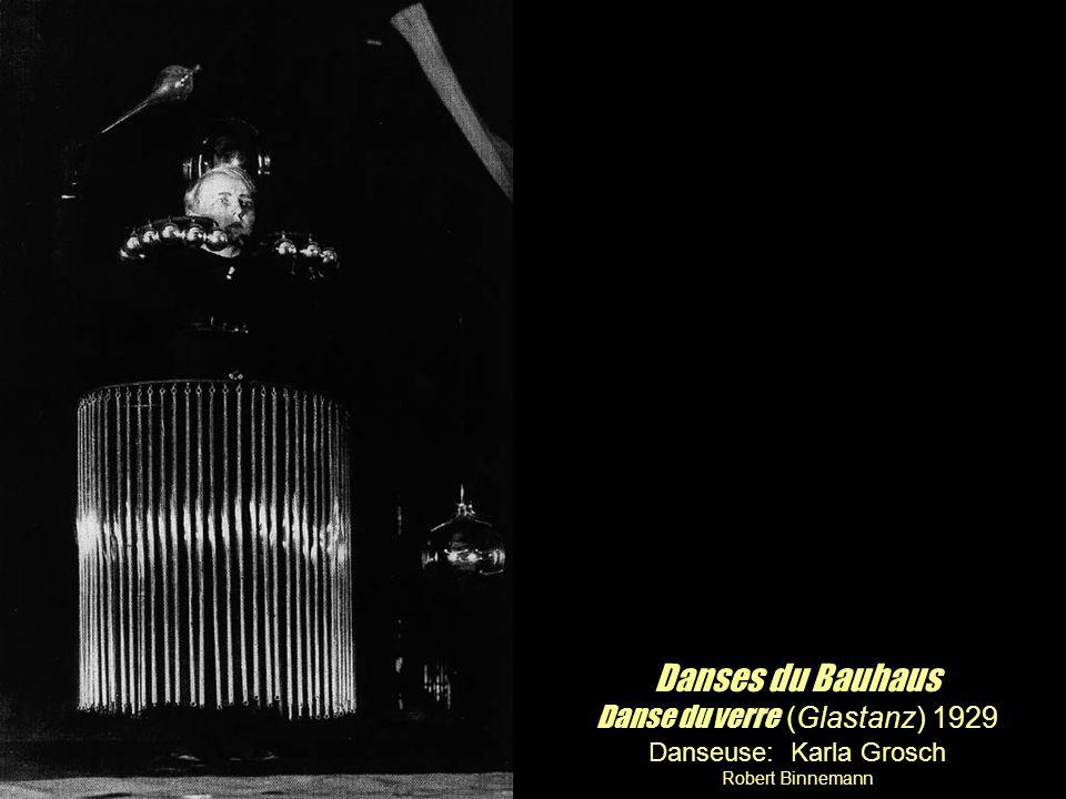 Danses du Bauhaus Danse du verre (Glastanz) 1929
