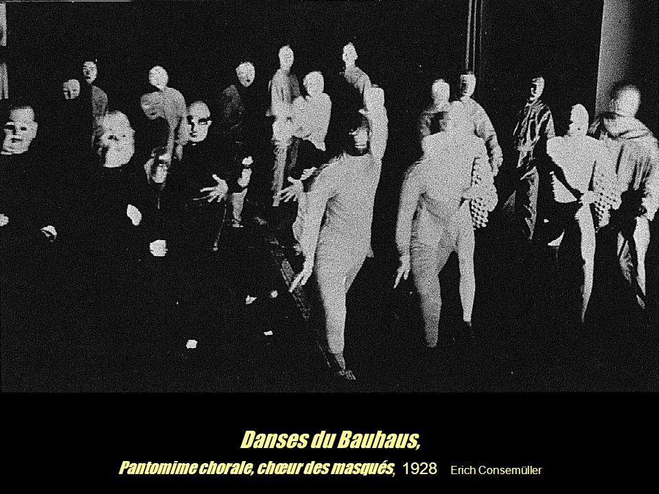 Pantomime chorale, chœur des masqués, 1928 Erich Consemüller