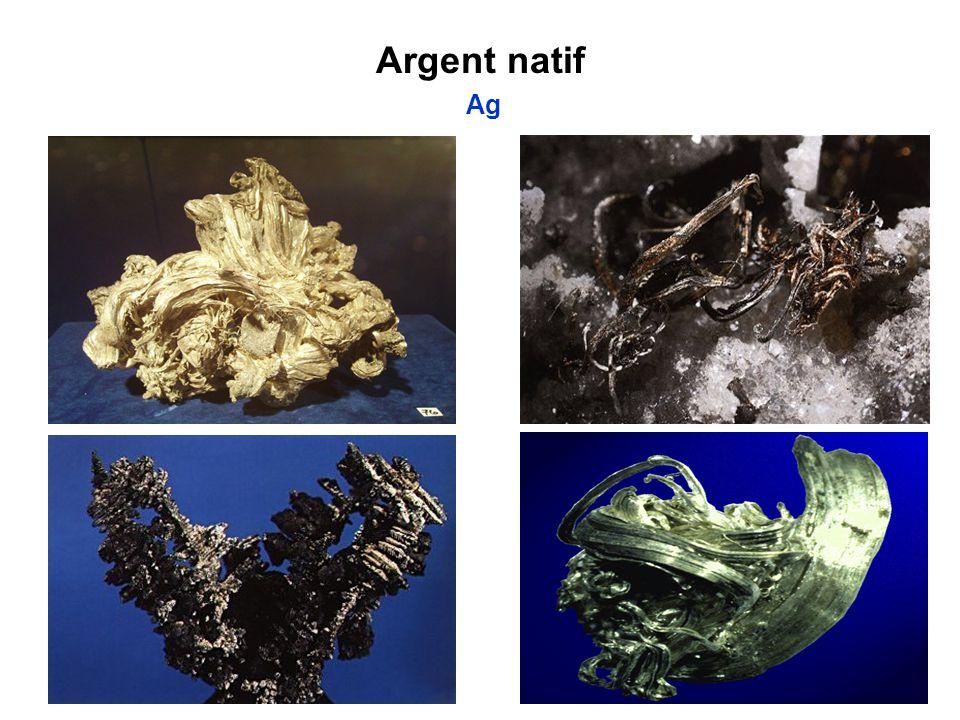 Argent natif Ag