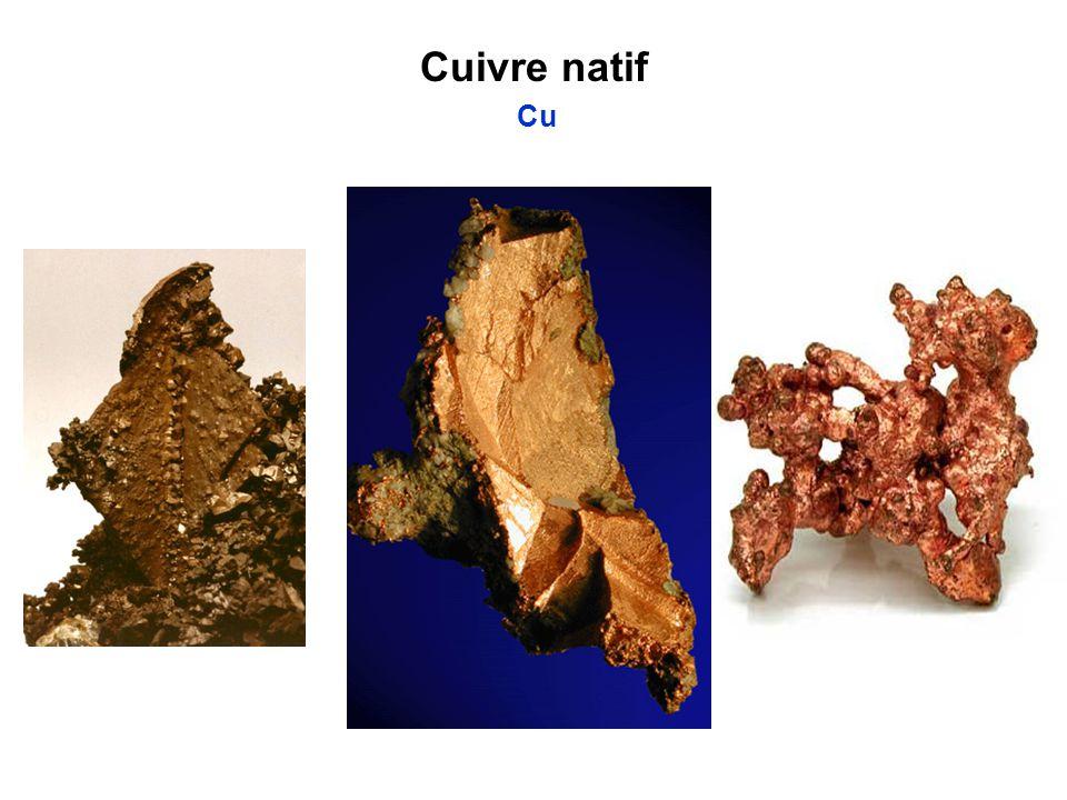 Cuivre natif Cu