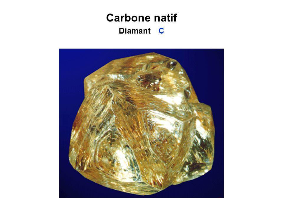 Carbone natif Diamant C