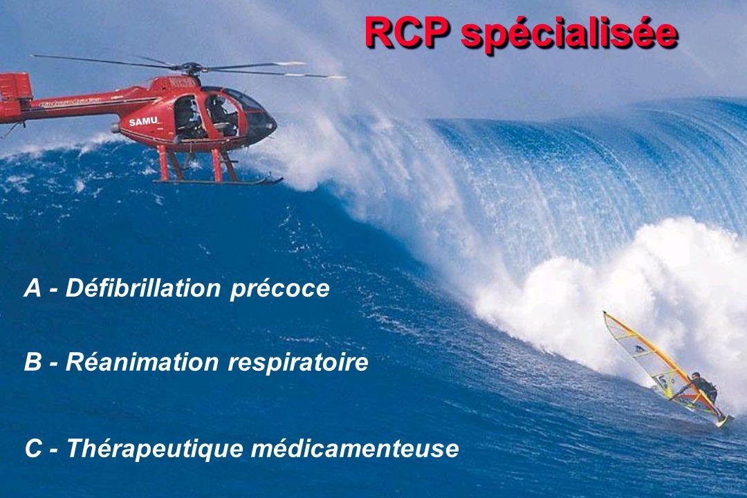 RCP spécialisée A - Défibrillation précoce
