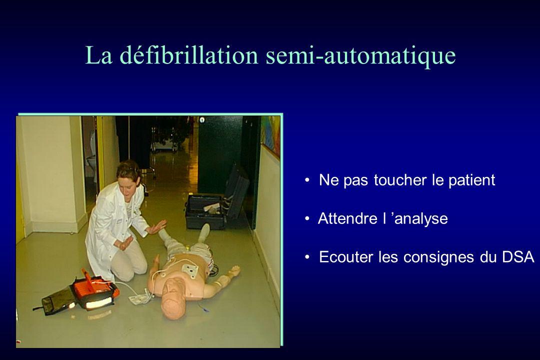 La défibrillation semi-automatique