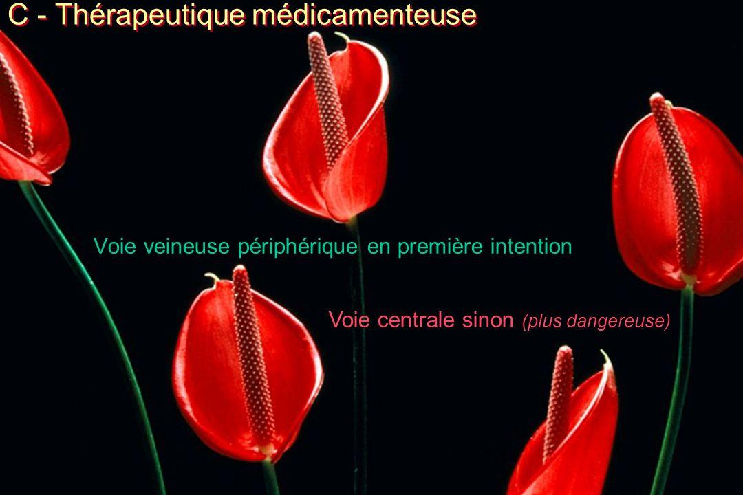 C - Thérapeutique médicamenteuse