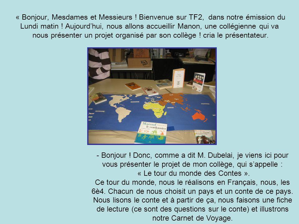 « Le tour du monde des Contes ».