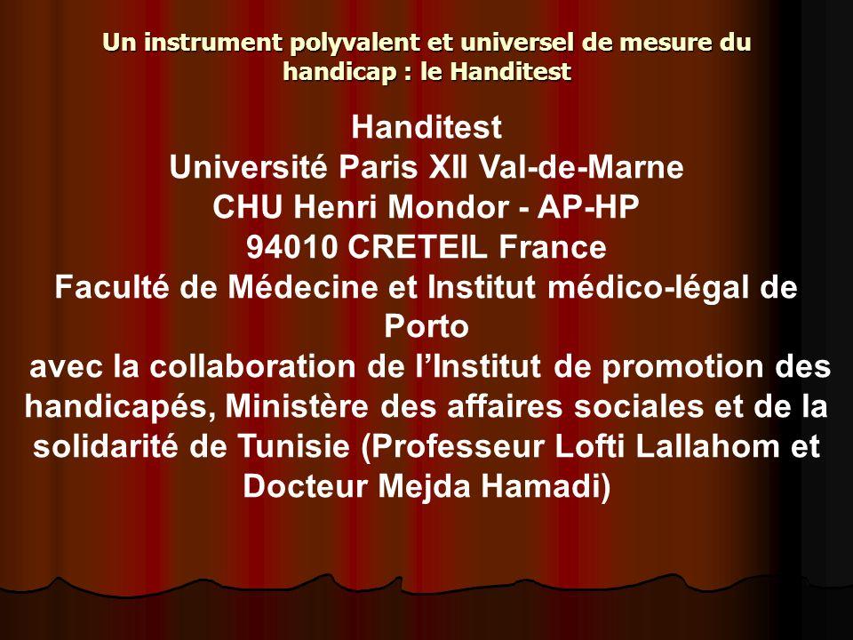 Université Paris XII Val-de-Marne CHU Henri Mondor - AP-HP