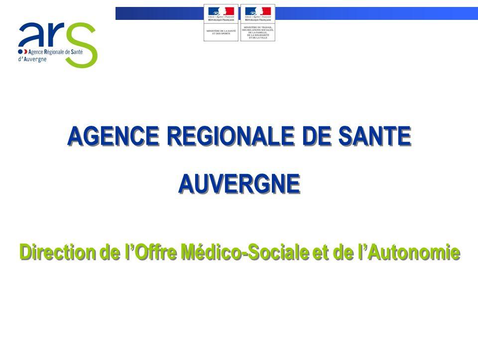 AGENCE REGIONALE DE SANTE AUVERGNE