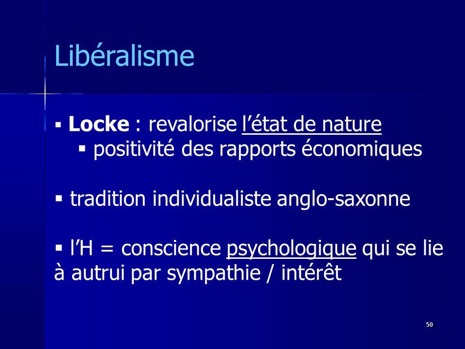 Libéralisme positivité des rapports économiques