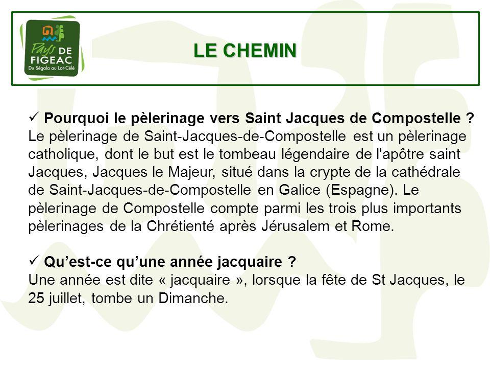 LE CHEMIN Pourquoi le pèlerinage vers Saint Jacques de Compostelle