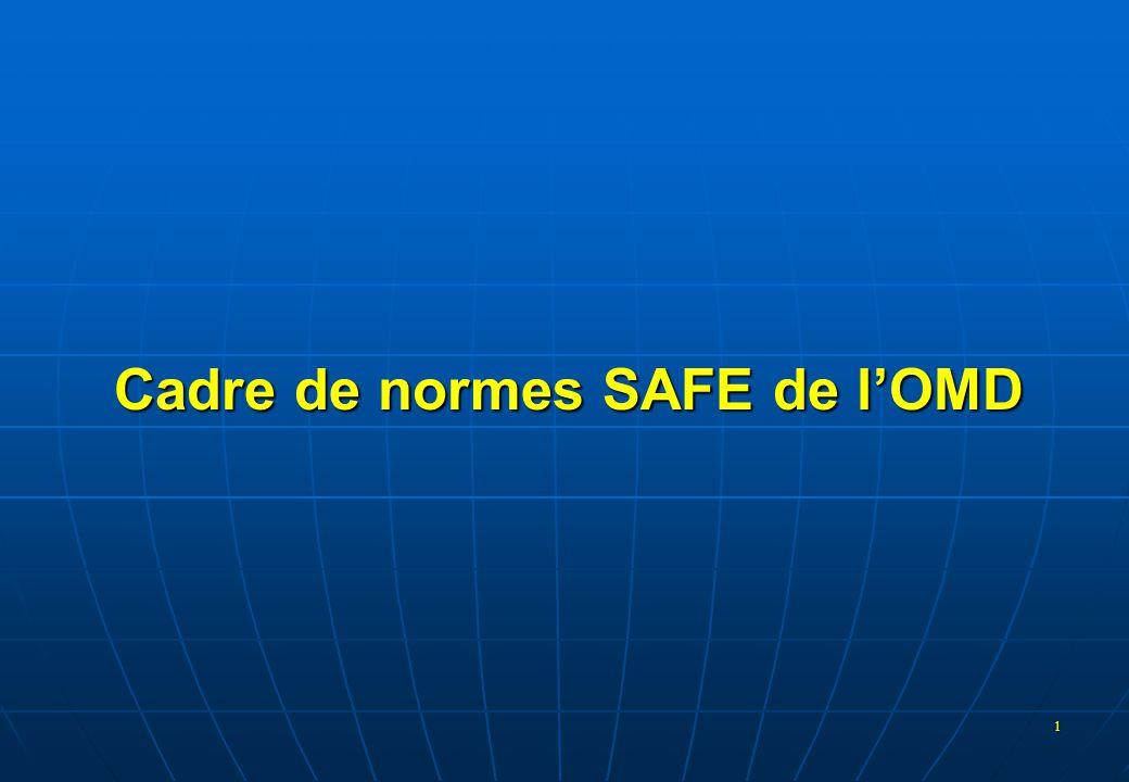 Cadre de normes SAFE de l'OMD