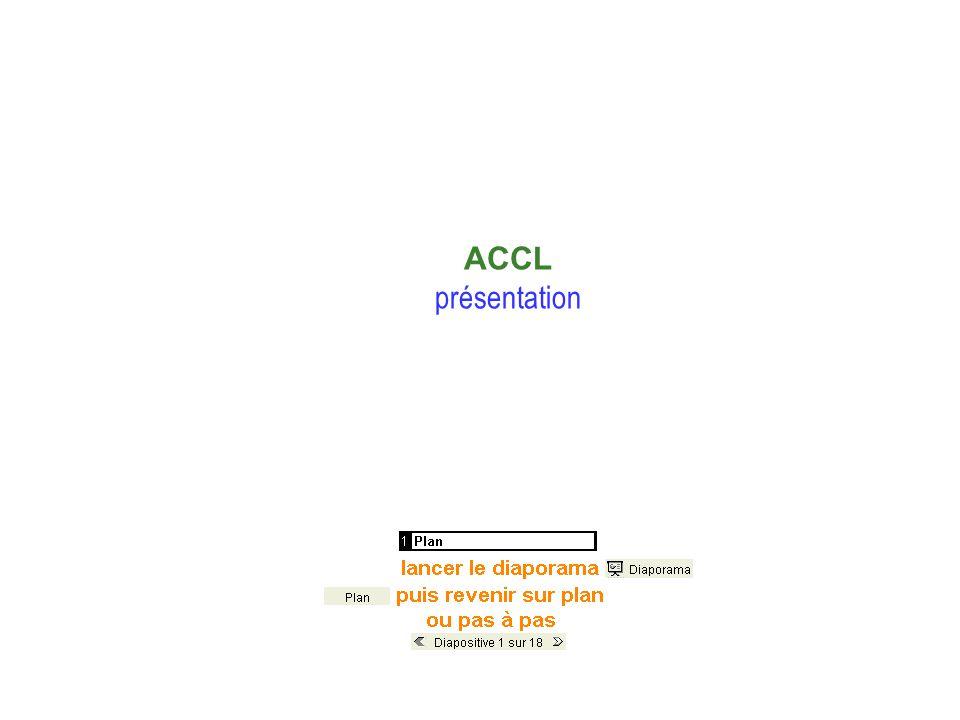 Présentation Plan ACCL présentation