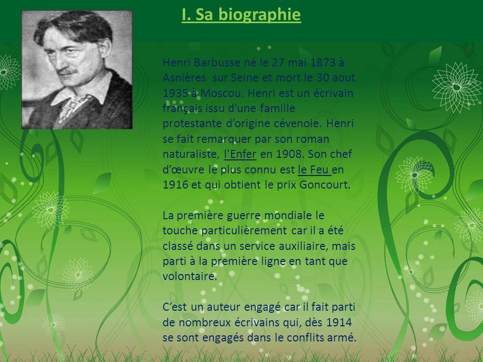 I. Sa biographie