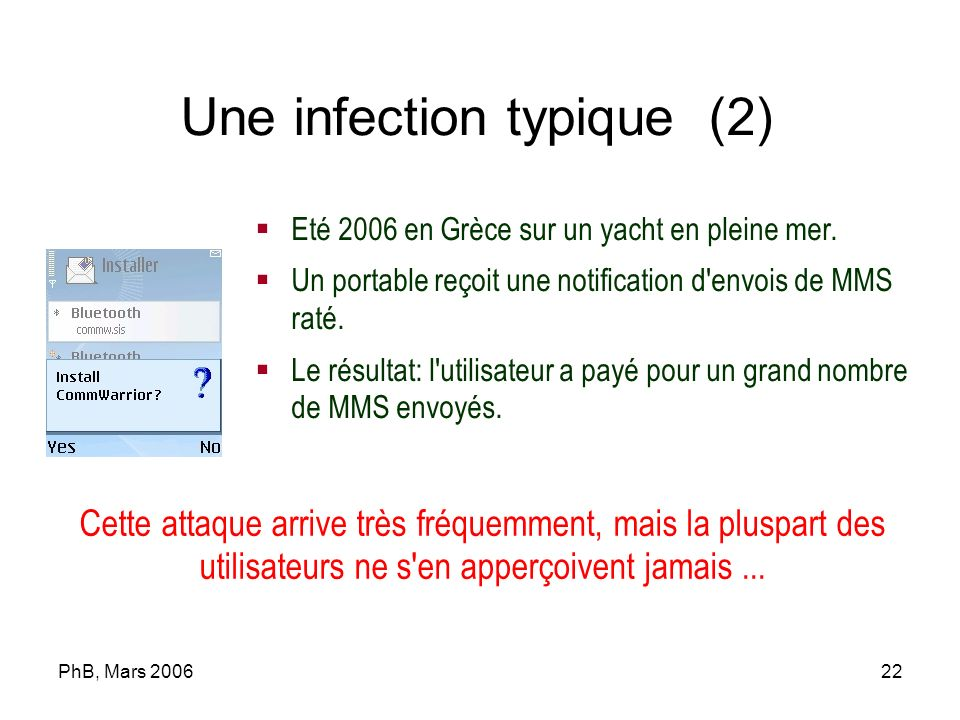 Une infection typique (2)‏