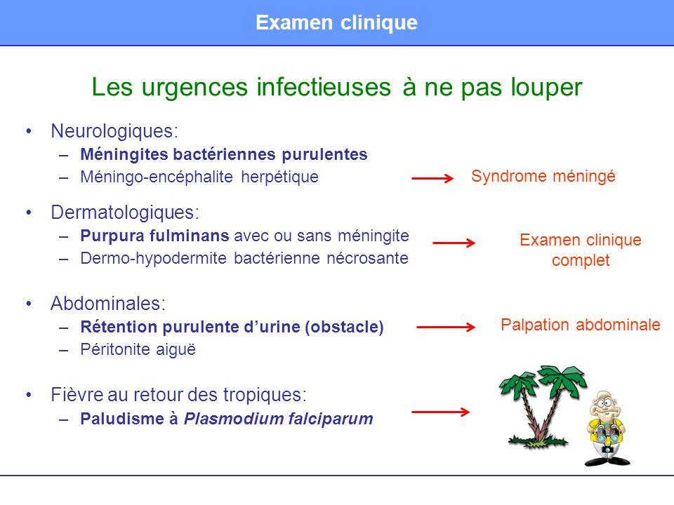 Les urgences infectieuses à ne pas louper