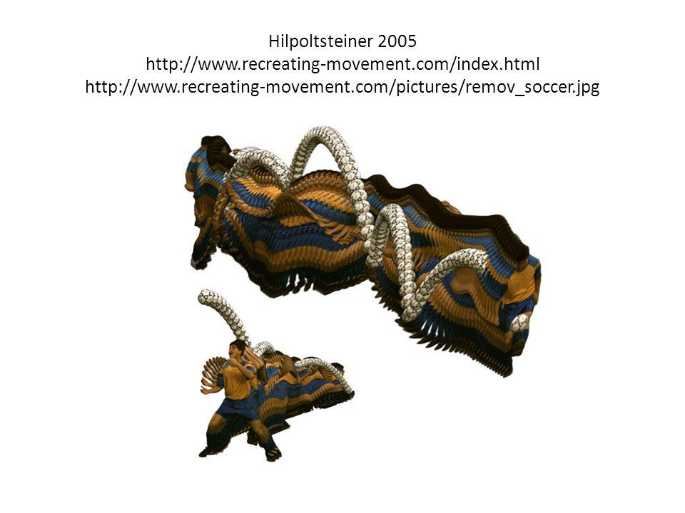 Hilpoltsteiner 2005 http://www. recreating-movement. com/index
