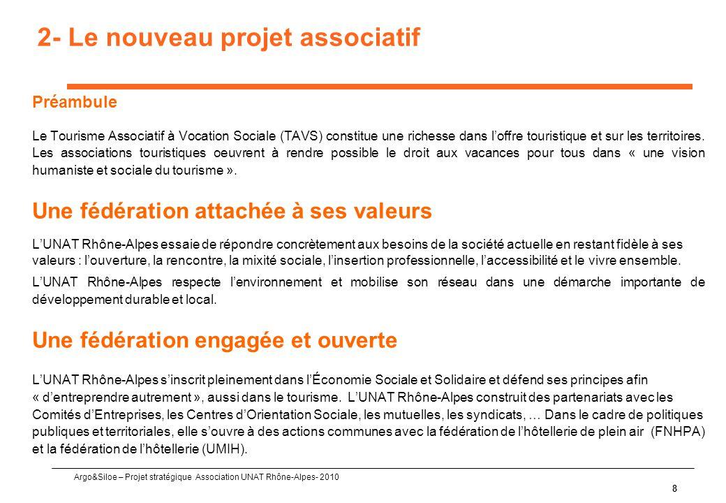 2- Le nouveau projet associatif