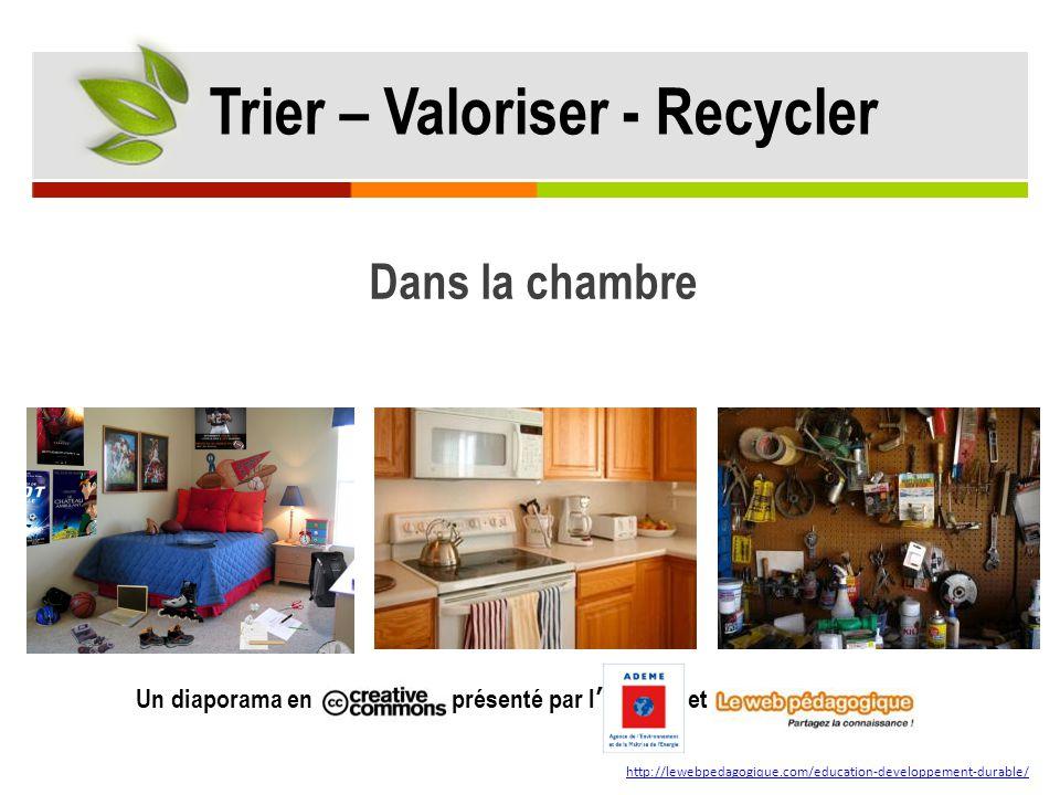 Trier – Valoriser - Recycler