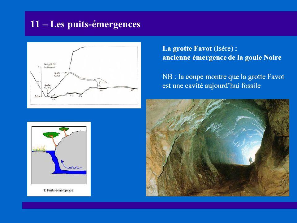 11 – Les puits-émergences