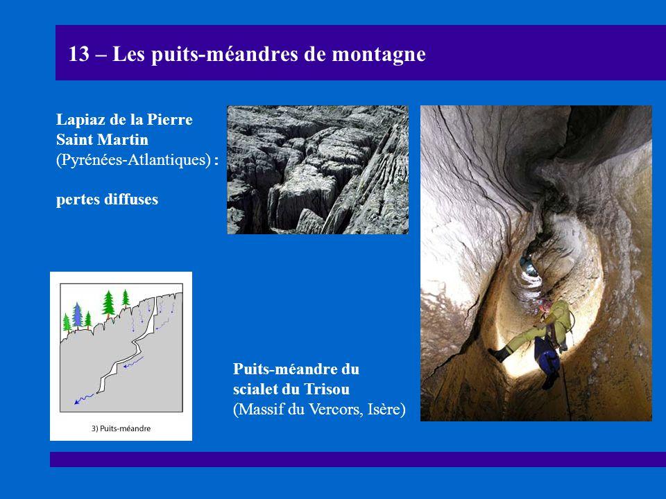 13 – Les puits-méandres de montagne