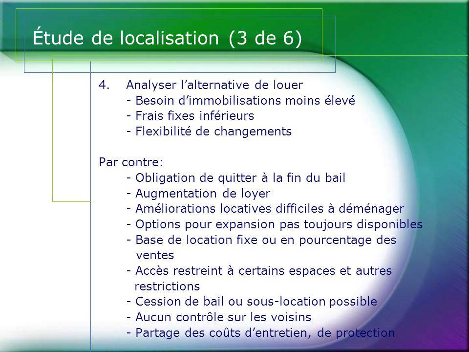 Étude de localisation (3 de 6)