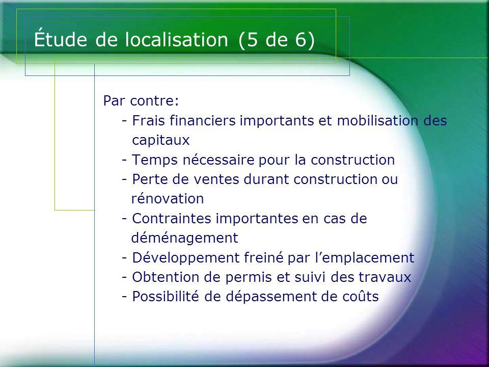 Étude de localisation (5 de 6)