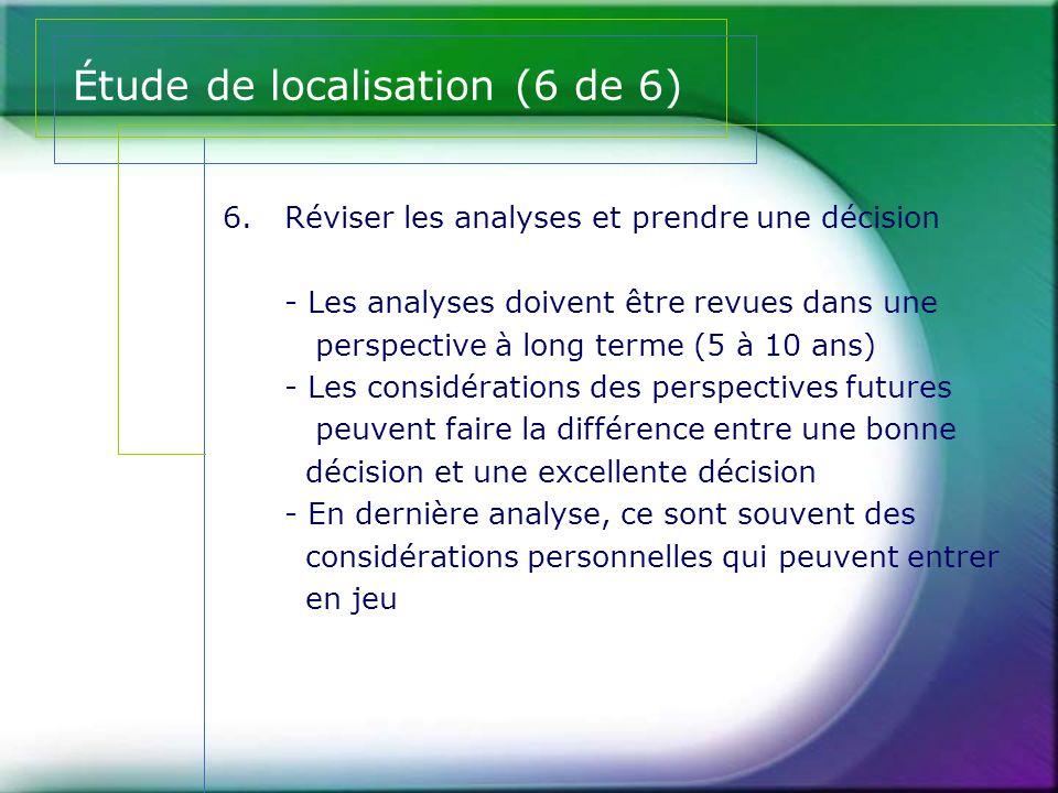 Étude de localisation (6 de 6)